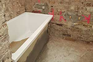 How To Strip Out An Existing Bathroom